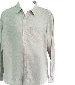 Fat Face 100% Linen Oxford shirt